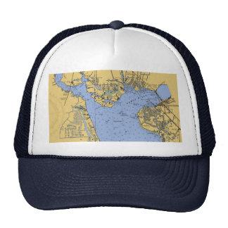 Port Charlotte, Florida Nautical Chart Hat