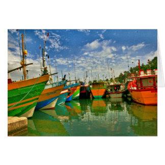 Port chez Mirissa Carte De Correspondance