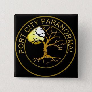 PORT CITY PARANORMAL 2 INCH SQUARE BUTTON