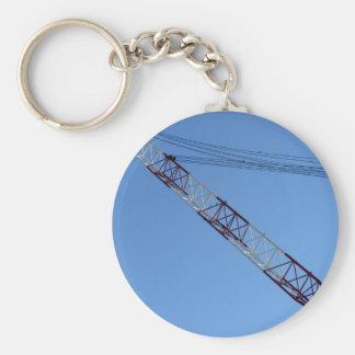 Port crane keychain