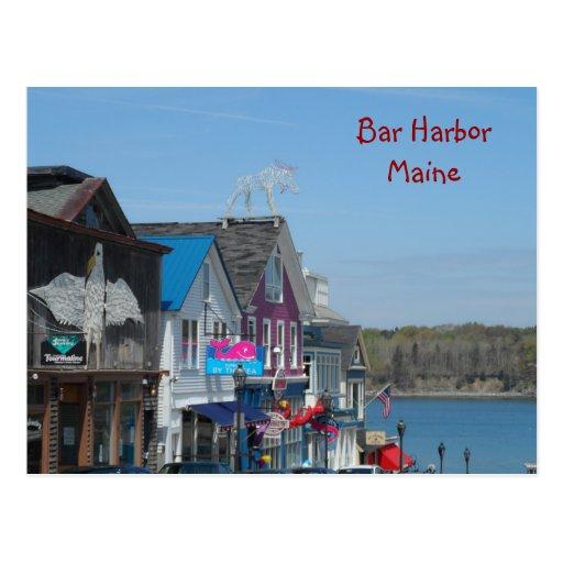 Port de barre, Maine Cartes Postales