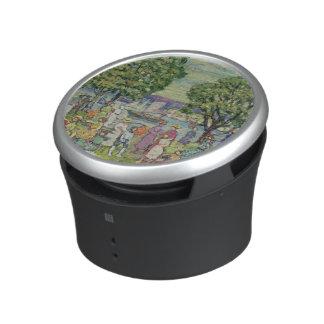 Port de Gloucester (huile sur la toile) Haut-parleur Bluetooth