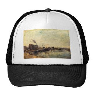 Port de Grenelle by Paul Gauguin Trucker Hat