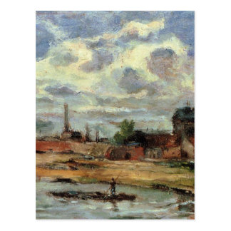Port de Javel by Paul Gauguin Postcard