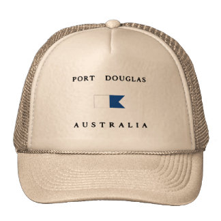 Port Douglas Australia Alpha Dive Flag Trucker Hat