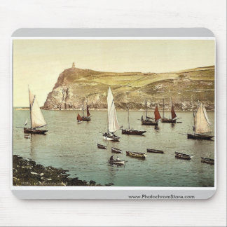 Port Erin, Bradda Head, Isle of Man, England rare Mouse Pad