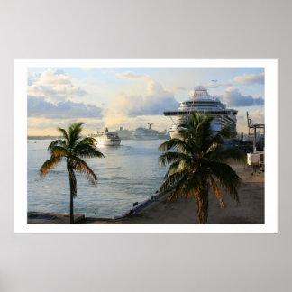 Port Everglades Poster