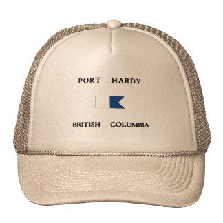 Port Hardy British Columbia Alpha Dive Flag Trucker Hat