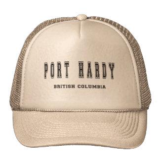 Port Hardy British Columbia Canada Trucker Hat
