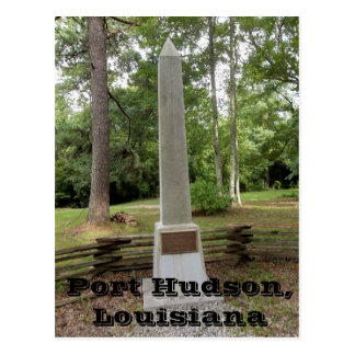 Port Hudson Battlefield Monument Postcard