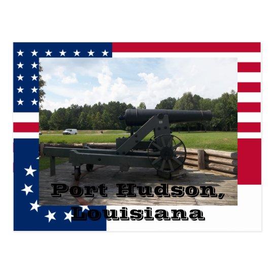 Port Hudson State Park Siege Cannon Display Postcard