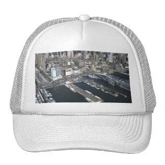 Port in New York City Trucker Hat