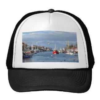 Port in Warnemuende (Germany) Trucker Hat
