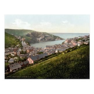 Port Isaac, Cornwall, England c.1895 Postcard