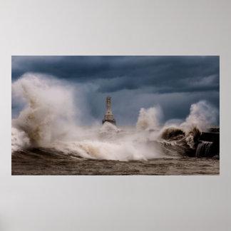 Port Lighthouse Poster