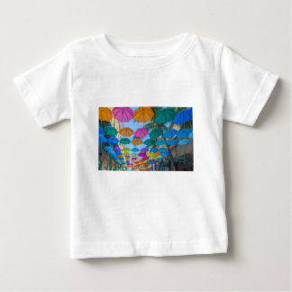 port louis le caudan waterfront umbrellas cap baby T-Shirt