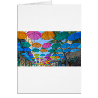 port louis le caudan waterfront umbrellas cap card