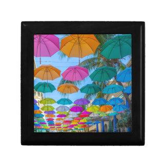 port louis le caudan waterfront umbrellas cap gift box