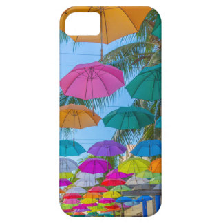 port louis le caudan waterfront umbrellas cap iPhone 5 case