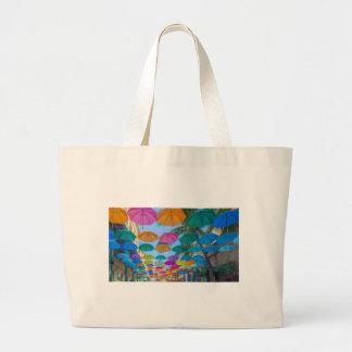 port louis le caudan waterfront umbrellas cap large tote bag