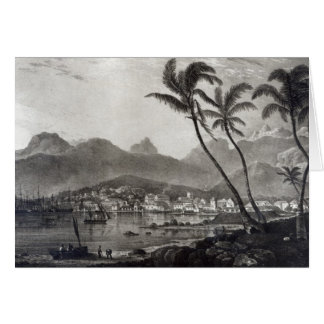 Port Louis 'Views in the Mauritius' by Card