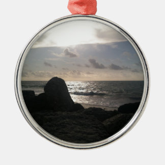Port Lucaya, Freeport, Bahamas Sunrise Metal Ornament