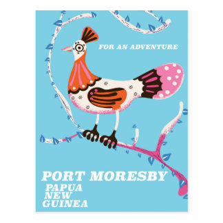 Port Moresby, Papua New Guinea Postcard