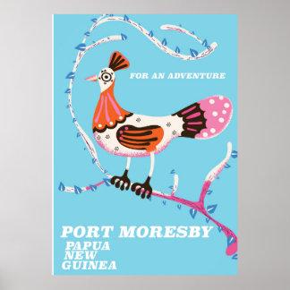 Port Moresby, Papua New Guinea Poster