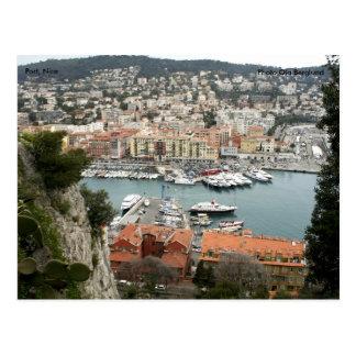 Port, Nice, Photo Ola Berglund Postcard