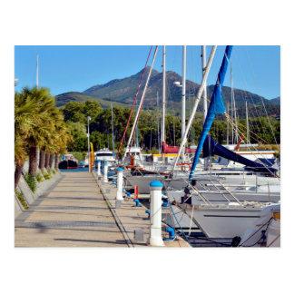 Port of Argelès-sur-Mer in France Postcard