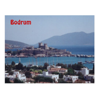 Port of Bodrum Postcard