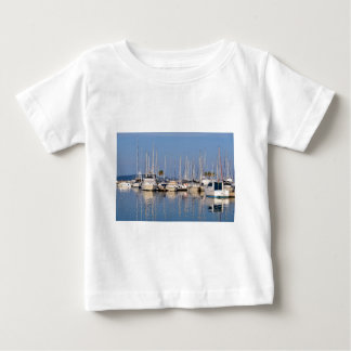 Port of Cavalaire-sur-Mer in France Baby T-Shirt