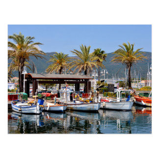 Port of Cavalaire-sur-Mer in France Postcard