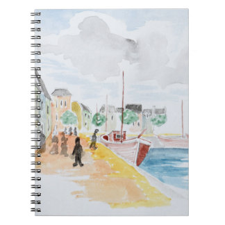 Port of Concarneau | Brittany, France Notebooks