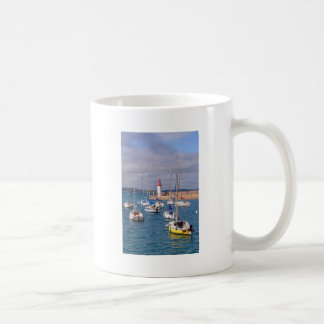 Port of Erquy in France Coffee Mug