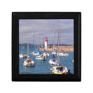 Port of Erquy in France Gift Box