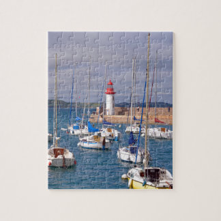Port of Erquy in France Jigsaw Puzzle