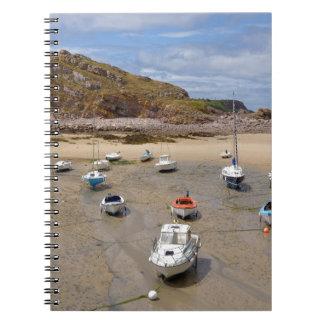Port of Erquy in France Notebook