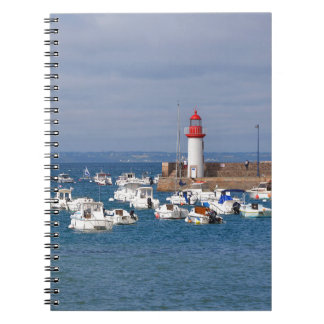 Port of Erquy in France Notebooks