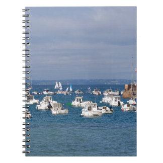 Port of Erquy in France Notebooks