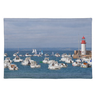 Port of Erquy in France Placemat