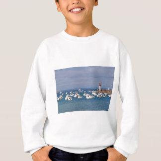 Port of Erquy in France Sweatshirt
