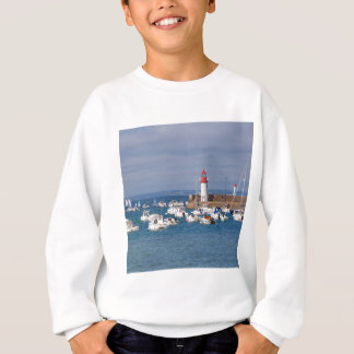 Port of Erquy in France Sweatshirt