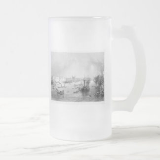 Port of London 1840 Frosted Glass Beer Mug