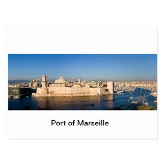 Port of Marseille Postcard