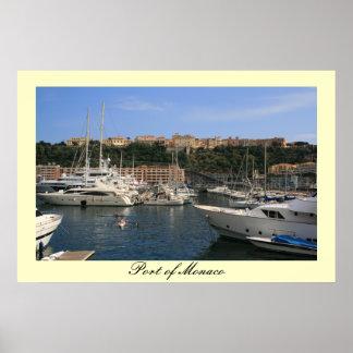 Port of Monaco Poster