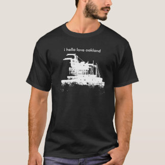 Port of Oakland Landmarks T-Shirt
