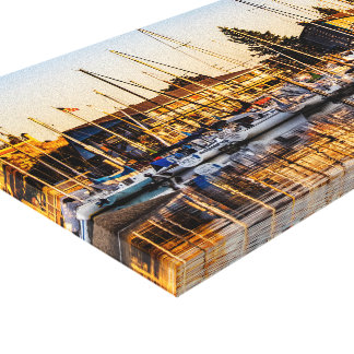 Port of Olympia Canvas Print