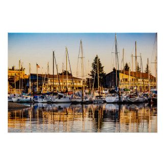 Port of Olympia Poster