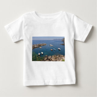 Port of Riomaggiore in Italy Baby T-Shirt